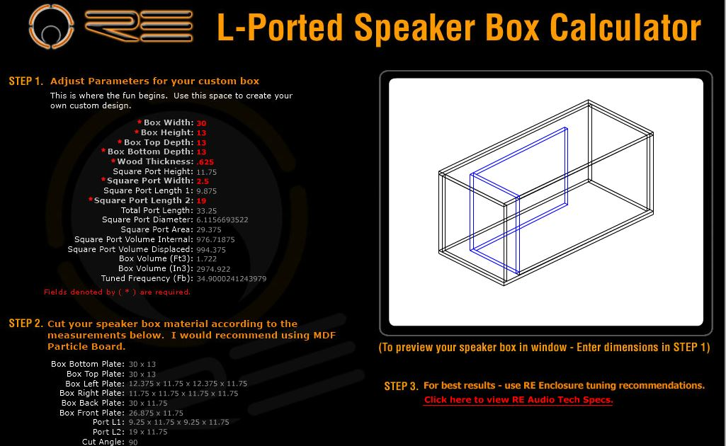 Subwoofer Box Calculator >> Help Need Help With Subwoofer Enclosure Subwoofers