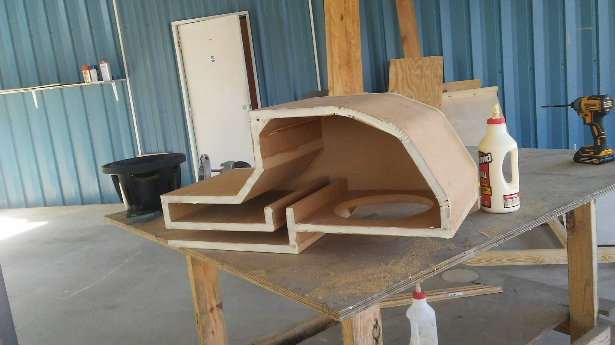how to build a ported sub box