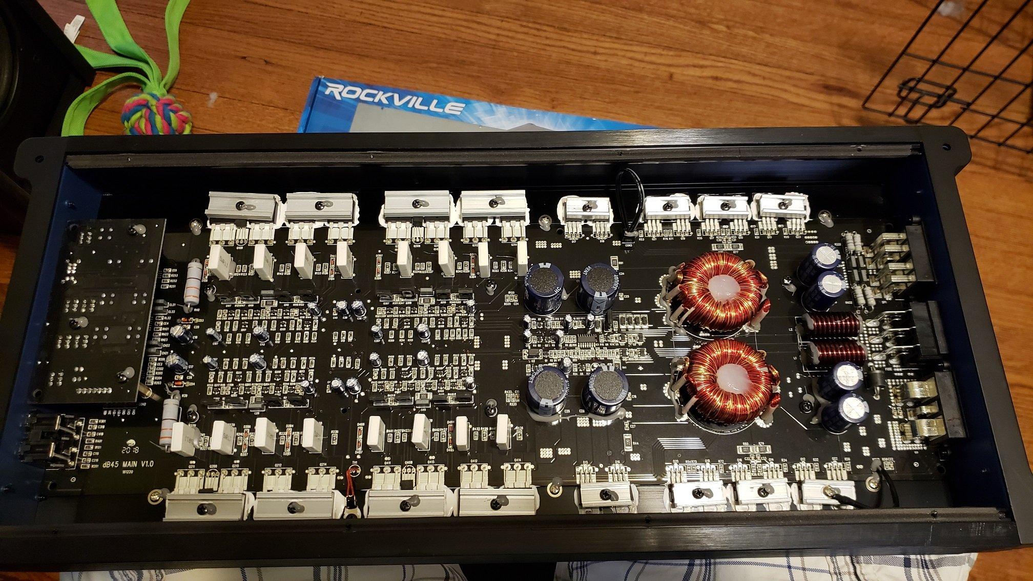 Rockville dB45 4 channel - Amp Guts - #1 Car Audio