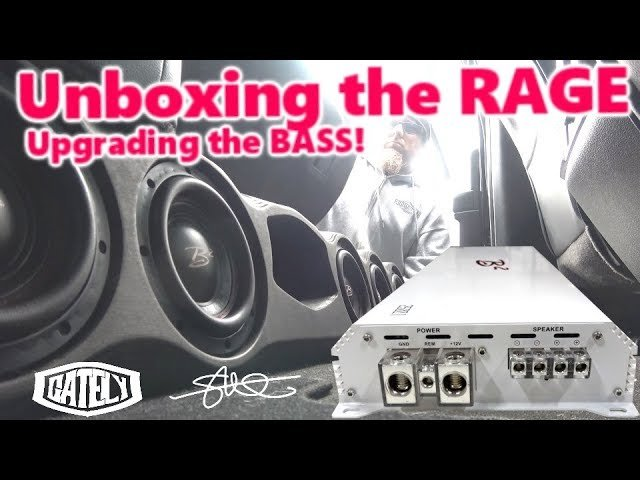 Unboxing the RAGE, Upgrading the BASS! 2500 Watts + OEM Integration Solution | 2017 #Ford F250 6.7